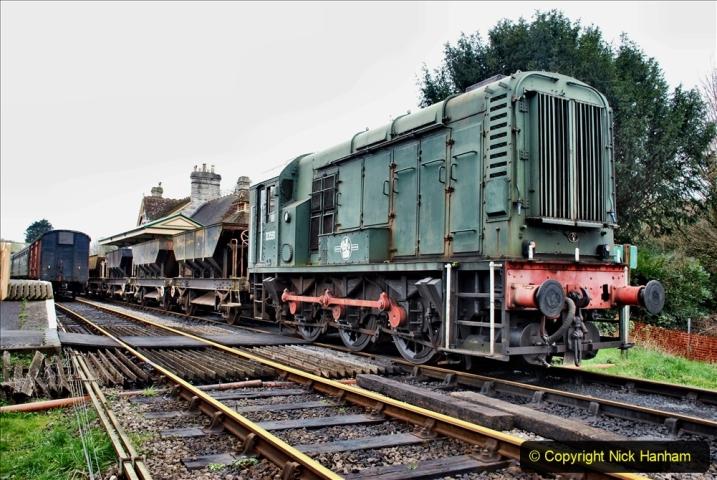 2020-01-24 Track renewall Cowpat Crossing to just past Dickers Crossing. (102) Ballast work. 102