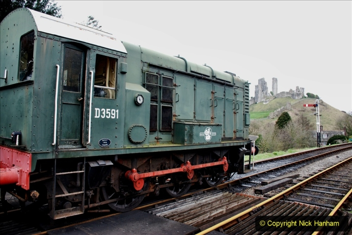 2020-01-24 Track renewall Cowpat Crossing to just past Dickers Crossing. (103) Ballast work. 103