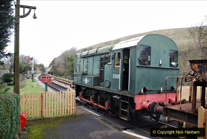 2020-01-24 Track renewall Cowpat Crossing to just past Dickers Crossing. (105) Ballast work. 105