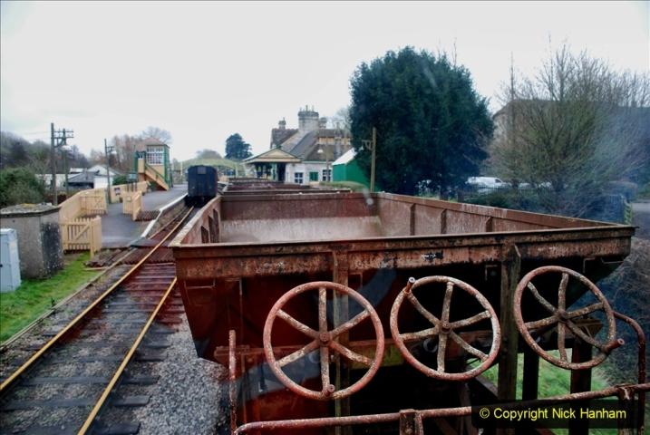 2020-01-24 Track renewall Cowpat Crossing to just past Dickers Crossing. (112) Ballast work. 112