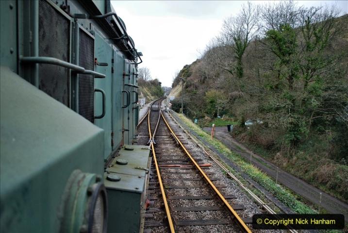 2020-01-24 Track renewall Cowpat Crossing to just past Dickers Crossing. (113) Ballast work. 113