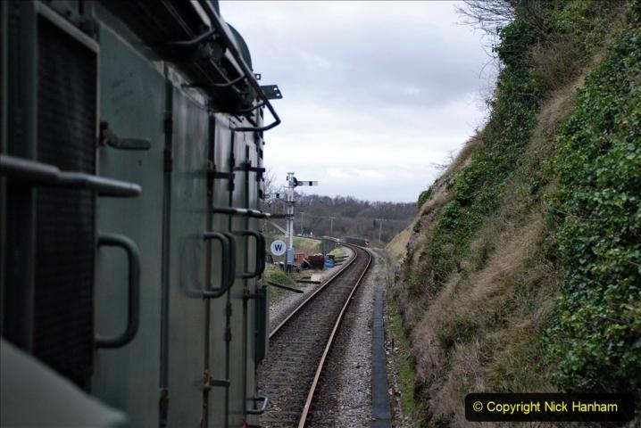 2020-01-24 Track renewall Cowpat Crossing to just past Dickers Crossing. (114) Ballast work. 114