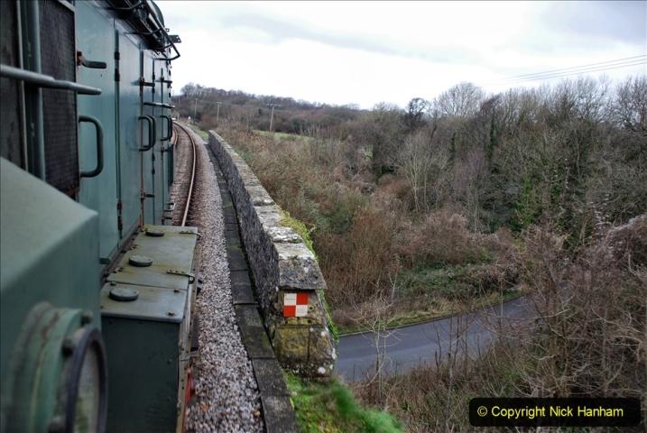 2020-01-24 Track renewall Cowpat Crossing to just past Dickers Crossing. (115) Ballast work. 115