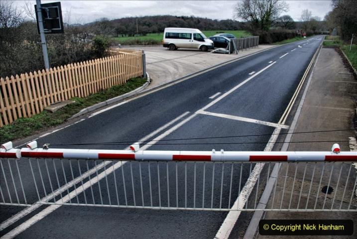 2020-01-24 Track renewall Cowpat Crossing to just past Dickers Crossing. (125) Ballast work. 125
