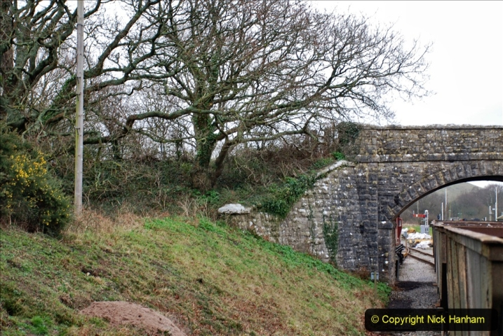 2020-01-24 Track renewall Cowpat Crossing to just past Dickers Crossing. (131) Ballast work. 131