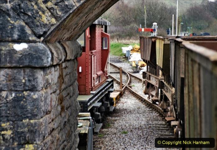 2020-01-24 Track renewall Cowpat Crossing to just past Dickers Crossing. (133) Ballast work. 133