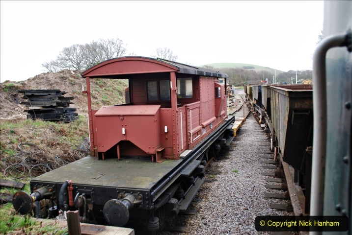 2020-01-24 Track renewall Cowpat Crossing to just past Dickers Crossing. (134) Ballast work. 134