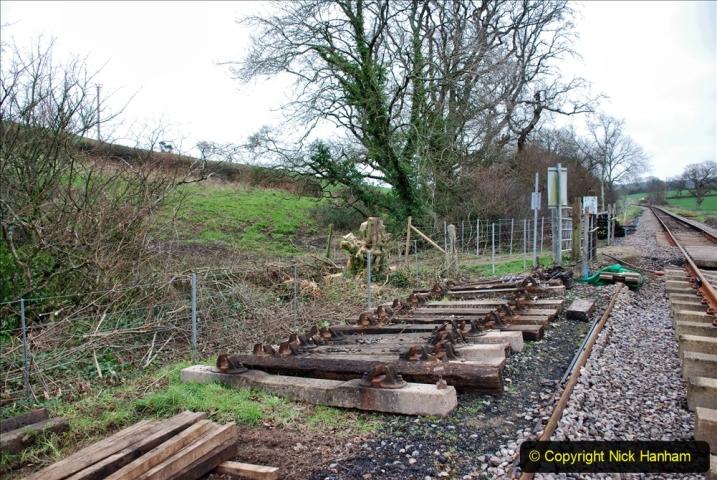 2020-01-24 Track renewall Cowpat Crossing to just past Dickers Crossing. (21) Ballast work. 021