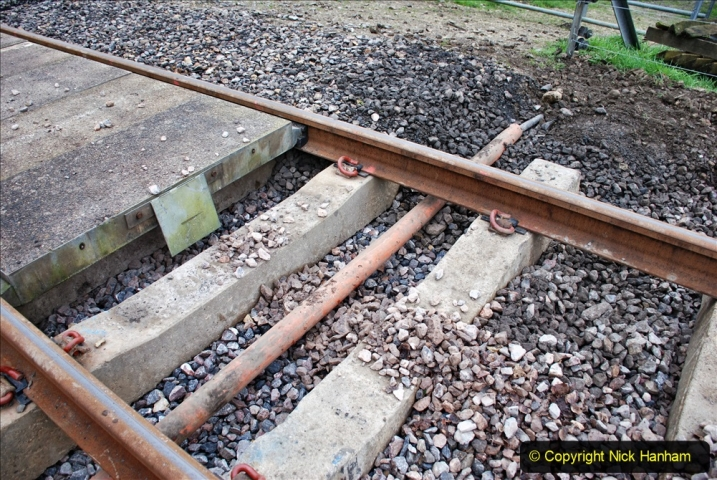 2020-01-24 Track renewall Cowpat Crossing to just past Dickers Crossing. (23) Ballast work. 023
