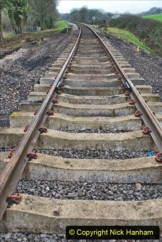 2020-01-24 Track renewall Cowpat Crossing to just past Dickers Crossing. (4) Ballast work. 004