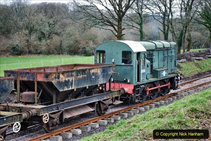 2020-01-24 Track renewall Cowpat Crossing to just past Dickers Crossing. (52) Ballast work. 052