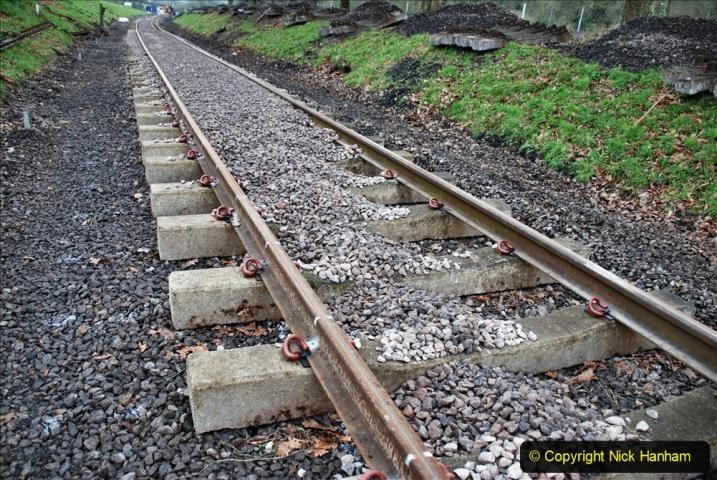 2020-01-24 Track renewall Cowpat Crossing to just past Dickers Crossing. (6) Ballast work. 006