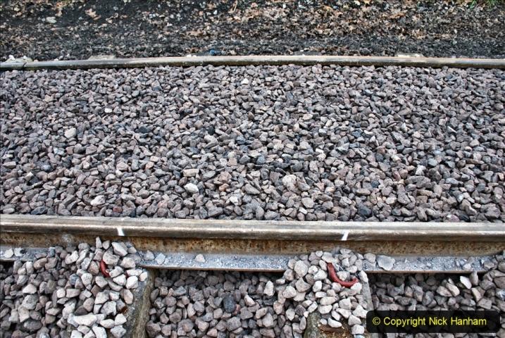 2020-01-24 Track renewall Cowpat Crossing to just past Dickers Crossing. (7) Ballast work. 007