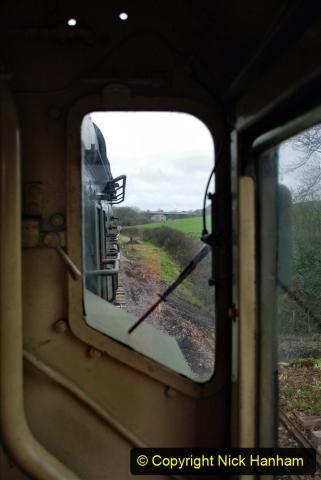 2020-01-24 Track renewall Cowpat Crossing to just past Dickers Crossing. (78) Ballast work. 078