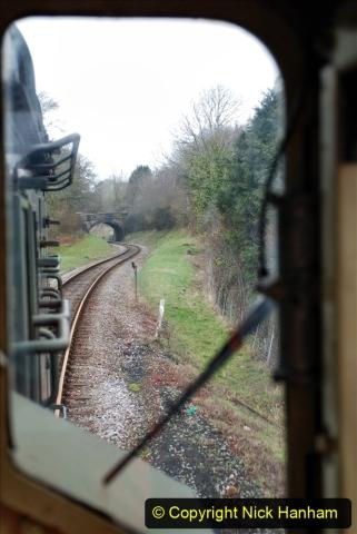 2020-01-24 Track renewall Cowpat Crossing to just past Dickers Crossing. (81) Ballast work. 081