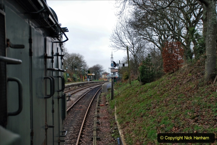 2020-01-24 Track renewall Cowpat Crossing to just past Dickers Crossing. (85) Ballast work. 085