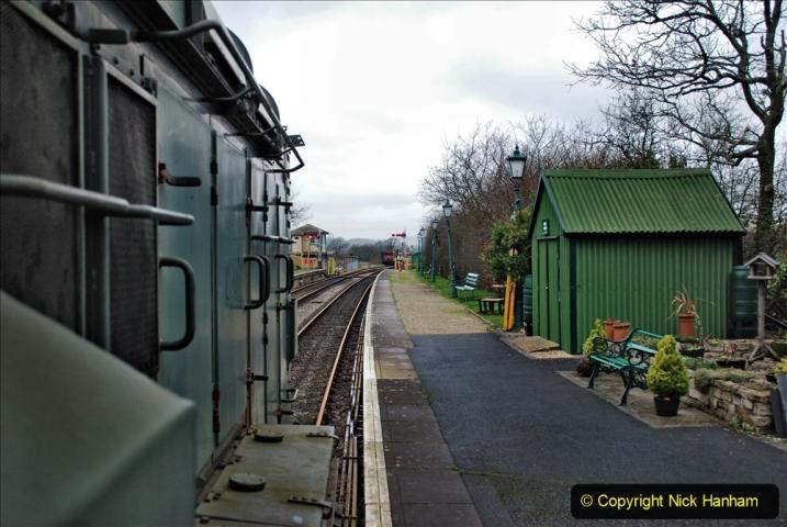 2020-01-24 Track renewall Cowpat Crossing to just past Dickers Crossing. (86) Ballast work. 086