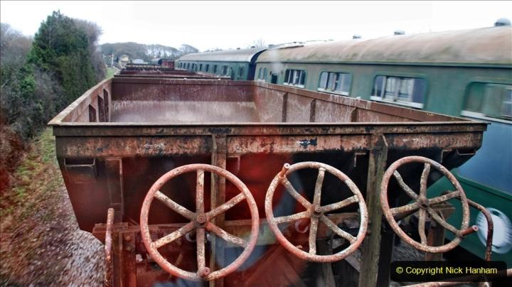 2020-01-24 Track renewall Cowpat Crossing to just past Dickers Crossing. (88) Ballast work. 088