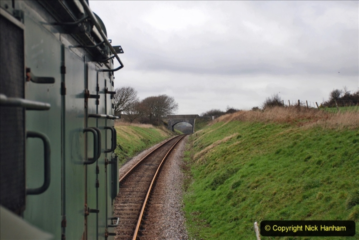 2020-01-24 Track renewall Cowpat Crossing to just past Dickers Crossing. (89) Ballast work. 089