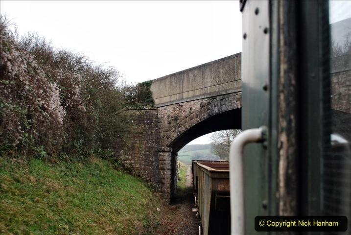 2020-01-24 Track renewall Cowpat Crossing to just past Dickers Crossing. (91) Ballast work. 091
