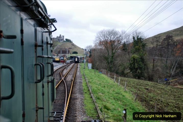 2020-01-24 Track renewall Cowpat Crossing to just past Dickers Crossing. (94) Ballast work. 094