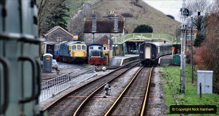 2020-01-24 Track renewall Cowpat Crossing to just past Dickers Crossing. (95) Ballast work. 095