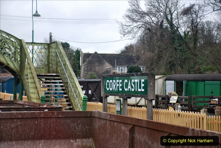 2020-01-24 Track renewall Cowpat Crossing to just past Dickers Crossing. (99) Ballast work. 099