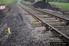 2020-01-24 Track renewall Cowpat Crossing to just past Dickers Crossing. (2) Ballast work. 002