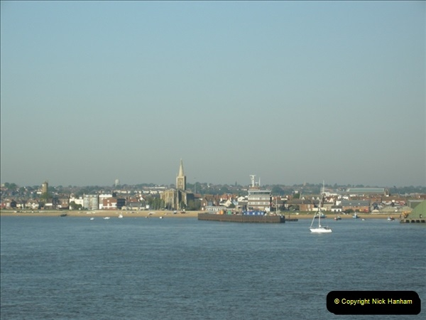 2008-05-12 Harwich, Essex & journey back to Poole, Dorset.  (1)602
