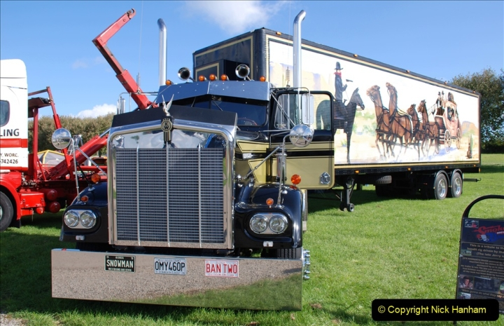 2019-09-01 Truckfest @ Shepton Mallet, Somerset. (64) From the film Smokey and the Bandit. 064