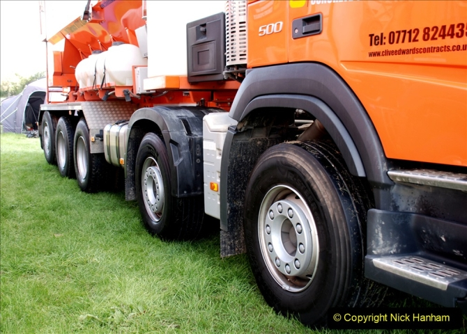 2019-09-01 Truckfest @ Shepton Mallet, Somerset. (90) Note the 5 axle configuration.090
