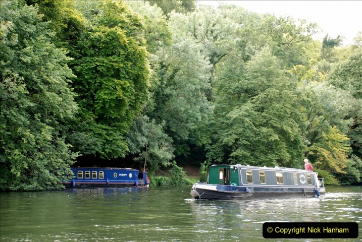 2019-08-20 Cliveden (NT) Taplow, Maidenhead, Berkshire. (104) River Thames boat trip. 104