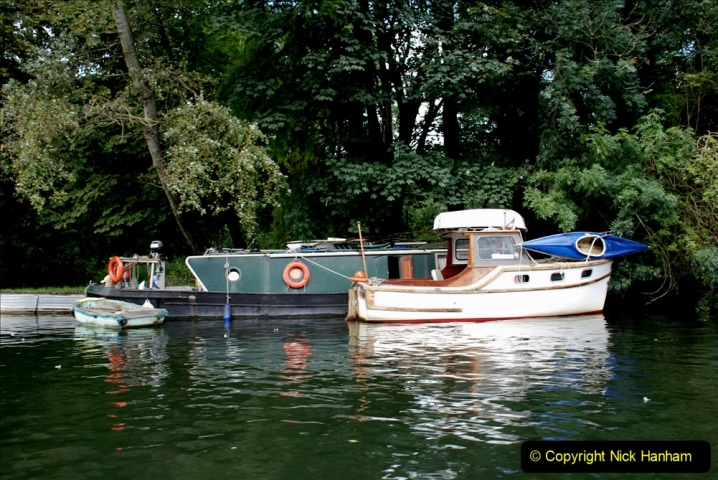2019-08-20 Cliveden (NT) Taplow, Maidenhead, Berkshire. (106) River Thames boat trip. 106