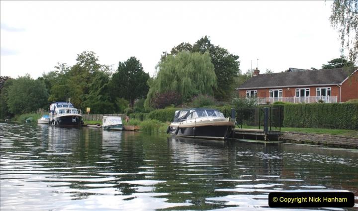 2019-08-20 Cliveden (NT) Taplow, Maidenhead, Berkshire. (110) River Thames boat trip. 110