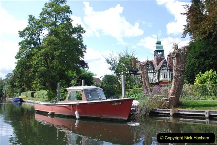 2019-08-20 Cliveden (NT) Taplow, Maidenhead, Berkshire. (112) River Thames boat trip. 112