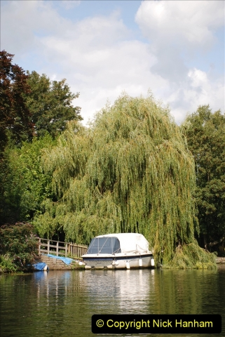 2019-08-20 Cliveden (NT) Taplow, Maidenhead, Berkshire. (115) River Thames boat trip. 115