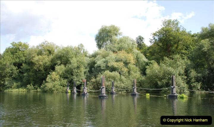 2019-08-20 Cliveden (NT) Taplow, Maidenhead, Berkshire. (117) River Thames boat trip. 117