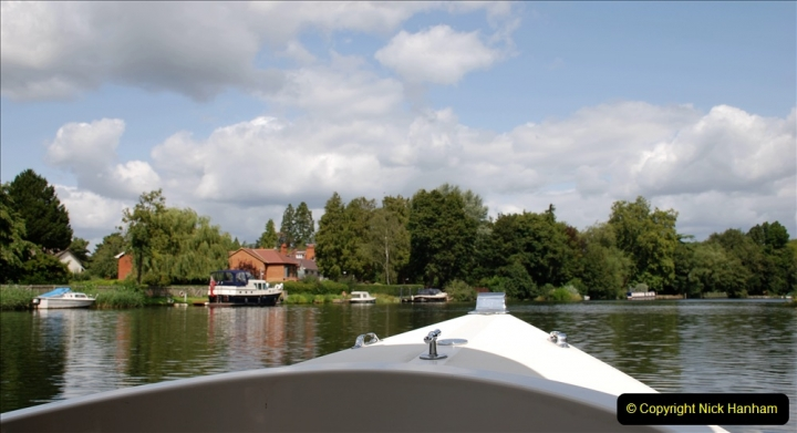 2019-08-20 Cliveden (NT) Taplow, Maidenhead, Berkshire. (120) River Thames boat trip. 120