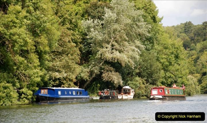 2019-08-20 Cliveden (NT) Taplow, Maidenhead, Berkshire. (122) River Thames boat trip. 122