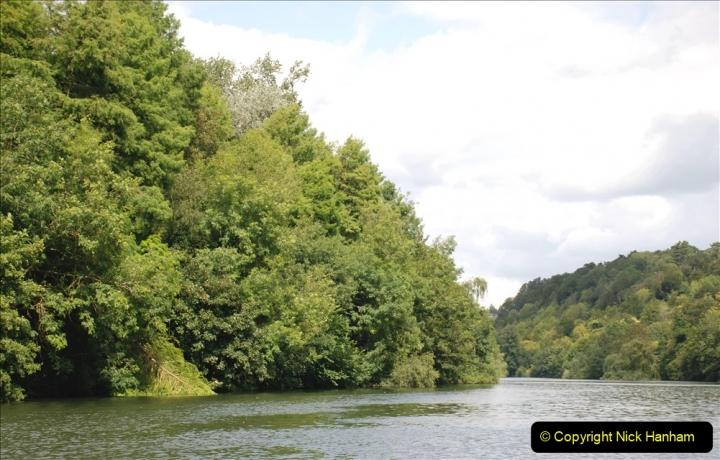 2019-08-20 Cliveden (NT) Taplow, Maidenhead, Berkshire. (124) River Thames boat trip. 124