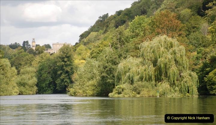 2019-08-20 Cliveden (NT) Taplow, Maidenhead, Berkshire. (127) River Thames boat trip. 127
