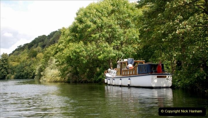2019-08-20 Cliveden (NT) Taplow, Maidenhead, Berkshire. (128) River Thames boat trip. 128