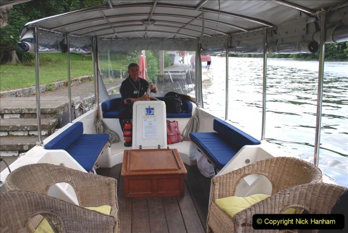 2019-08-20 Cliveden (NT) Taplow, Maidenhead, Berkshire. (75) River Thames boat trip. 075