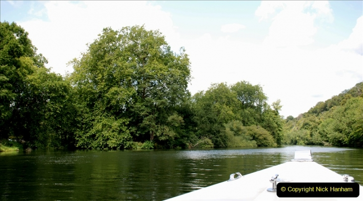 2019-08-20 Cliveden (NT) Taplow, Maidenhead, Berkshire. (80) River Thames boat trip. 080