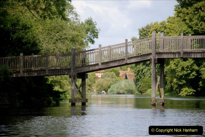 2019-08-20 Cliveden (NT) Taplow, Maidenhead, Berkshire. (87) River Thames boat trip. 087