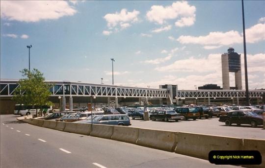 USA and Canada East Coast July 1990