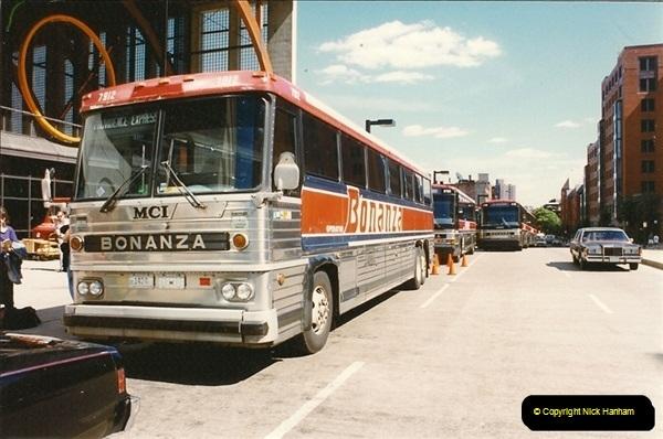 1990 July. Canada & USA.  (15)