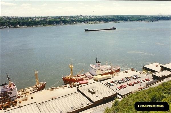 1990 July. Canada & USA.  (73)