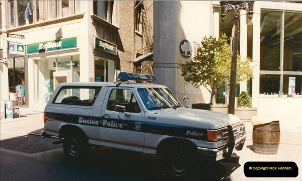 1990 July. Canada & USA.  (8)