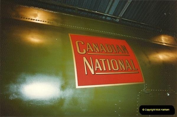 1990 July. Canada & USA.  (95)